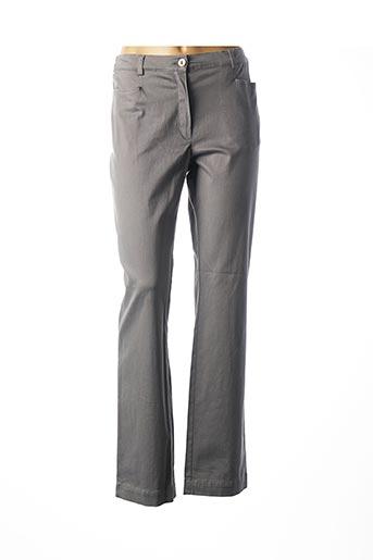 Pantalon casual gris ARMOR LUX pour femme
