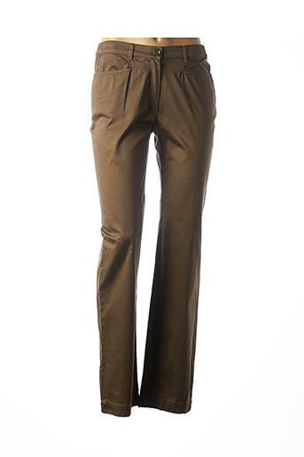 Pantalon casual vert ARMOR LUX pour femme