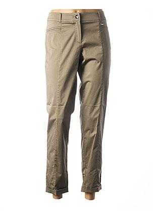 Pantalon 7/8 marron GERRY WEBER pour femme