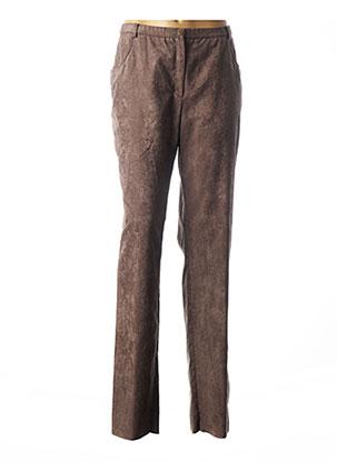 Pantalon chic marron PAUPORTÉ pour femme