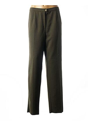 Pantalon chic vert KARTING pour femme