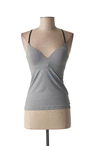 Top/Caraco gris SLOGGI pour femme