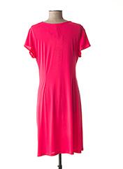 Robe mi-longue rose BARANDI pour femme seconde vue