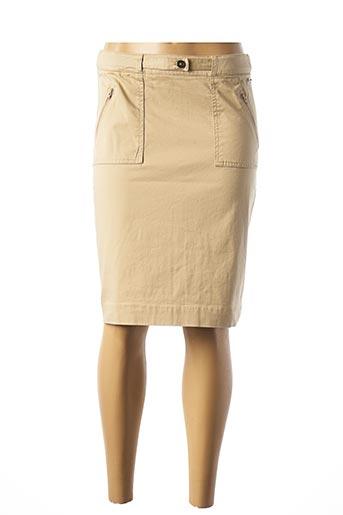 Jupe mi-longue beige ARMOR LUX pour femme