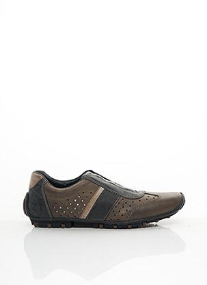 Chaussures de confort marron RIEKER pour homme
