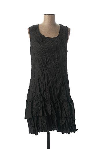 Robe mi-longue noir FRANSTYLE pour femme