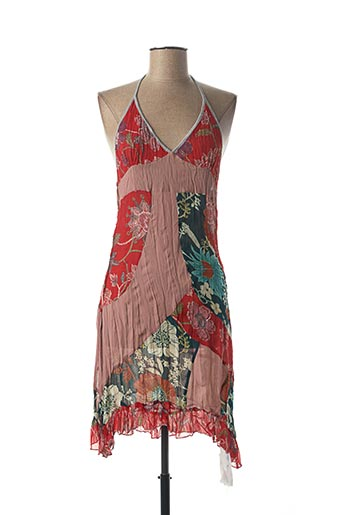 Robe courte rouge FRANSTYLE pour femme