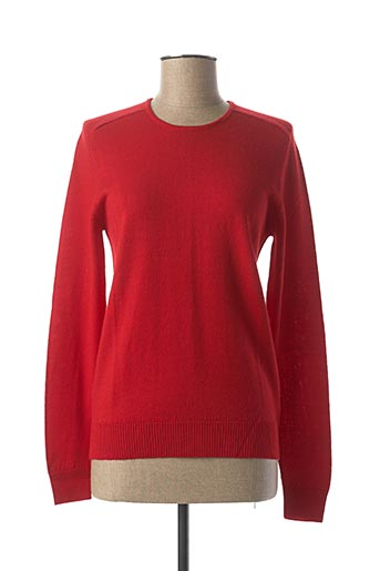 Pull col rond rouge ESCORPION pour femme