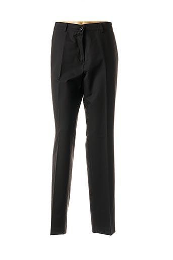 Pantalon casual noir LCDN pour femme