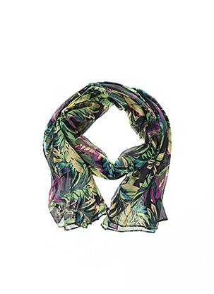 Foulard vert YOEK pour femme