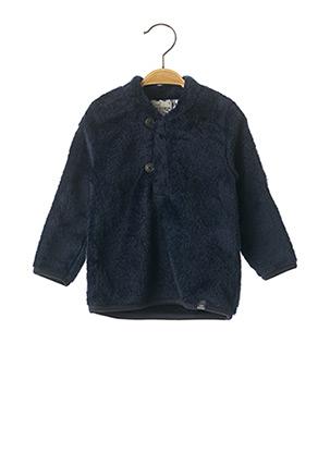Sweat-shirt bleu JEAN BOURGET pour garçon
