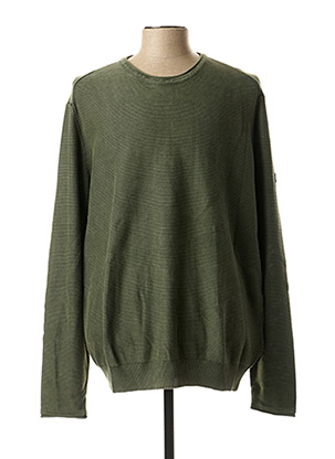Pull col rond vert CAMEL ACTIVE pour homme