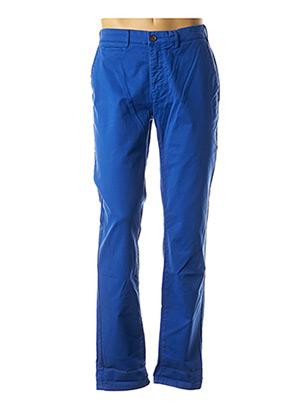 Pantalon casual bleu CAMBRIDGE pour homme