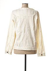 Veste casual beige JULIE GUERLANDE pour femme seconde vue