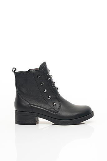 Bottines/Boots noir EMILIE KARSTON pour femme