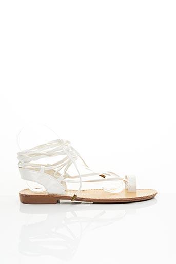 Sandales/Nu pieds blanc MARYPAZ pour femme
