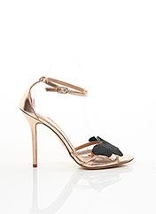 Sandales/Nu pieds rose TWINSET pour femme seconde vue