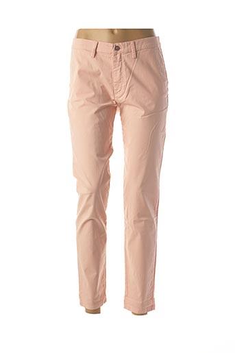 Pantalon casual rose LCDN pour femme