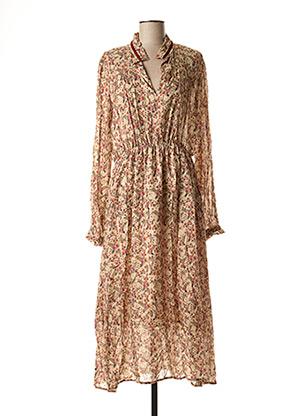 Robe mi-longue rose ATELIER BOHÈME pour femme