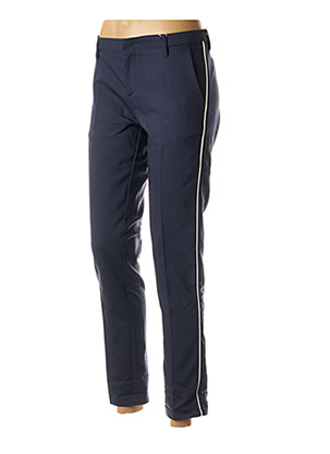 Pantalon casual bleu BÔ-M pour femme