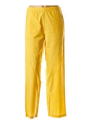 Pantalon casual jaune COMPAÑIA FANTASTICA pour femme
