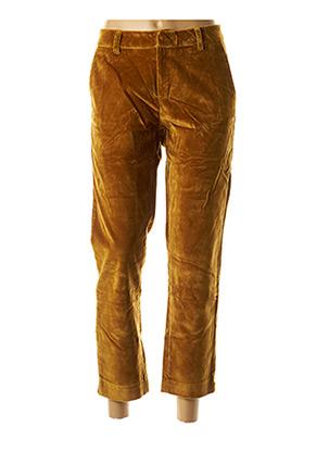 Pantalon casual marron ATELIER BOHÈME pour femme