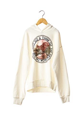 Sweat-shirt blanc GARCIA pour fille