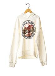 Sweat-shirt blanc GARCIA pour fille seconde vue