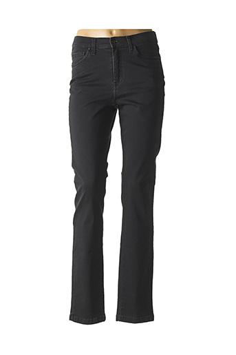 Jeans coupe slim gris LCDN pour femme