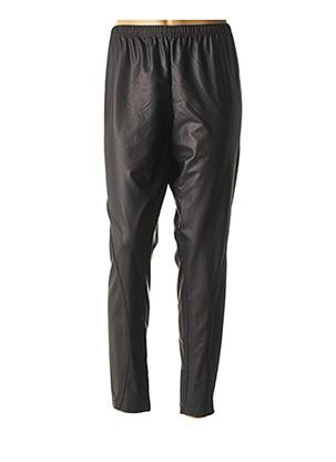 Pantalon casual noir FRANCK ANNA pour femme