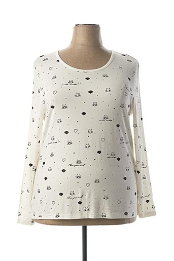 T-shirt manches longues beige ANANKE pour femme