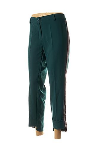 Pantalon 7/8 vert EDAS pour femme