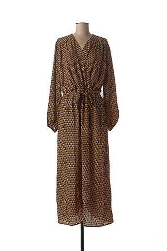 Robe longue noir CHRISTY pour femme