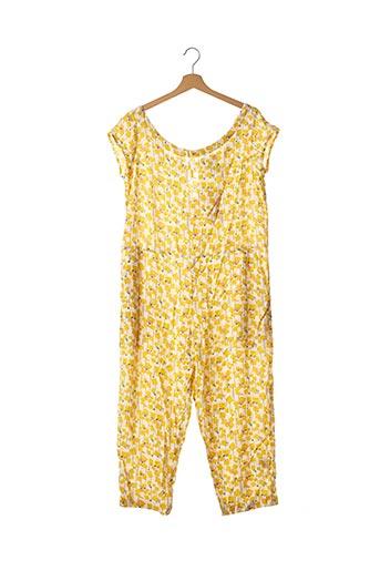 Combi-pantalon jaune BLA-BLA pour femme