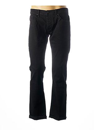 Jeans coupe slim noir TIFFOSI pour homme