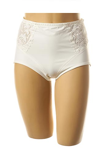 Culotte gainante blanc FELINA pour femme