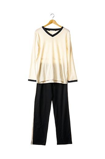 Pyjama noir CHRISTIAN CANE pour femme