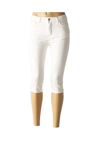 Corsaire blanc CONCEPT K pour femme