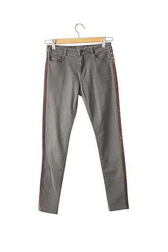 Jeans skinny gris EDC pour femme