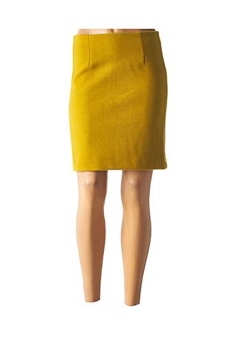 Jupe courte vert ICHI pour femme