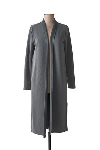 Veste casual gris YAYA pour femme