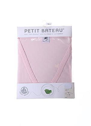 Top rose PETIT BATEAU pour fille