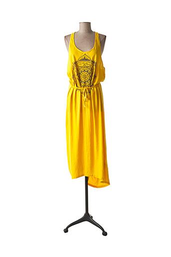 Robe mi-longue jaune O'NEILL pour femme