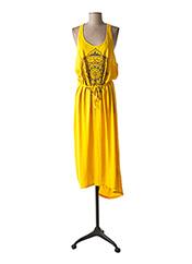 Robe mi-longue jaune O'NEILL pour femme seconde vue