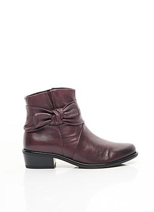 Bottines/Boots violet CAPRICE pour femme
