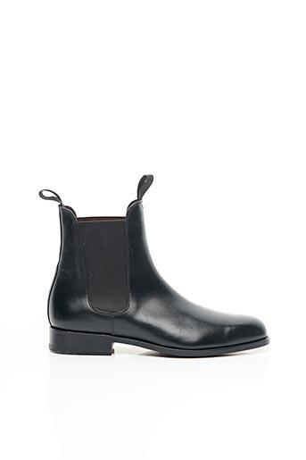 Bottines/Boots noir JOHANN pour femme