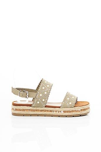 Sandales/Nu pieds vert MARCO TOZZI pour femme