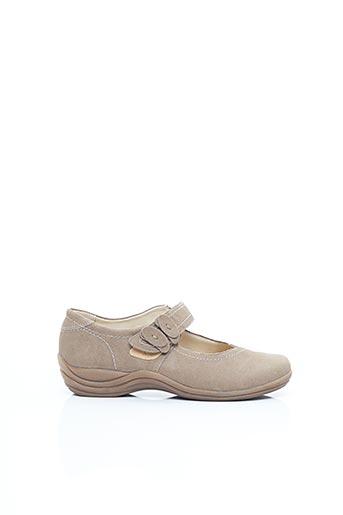 Chaussures de confort beige REMONTE pour femme
