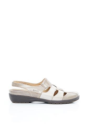 Chaussures de confort beige SUAVE pour femme