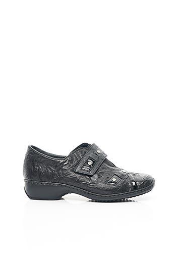 Chaussures de confort noir RIEKER pour femme